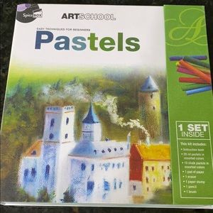 Other - Art school easy techniques for beginners pastels